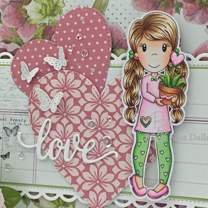 Ellie with Heart Flower2