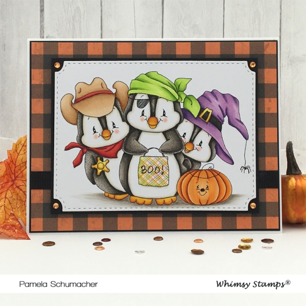 Pam_World-Card-Making-Day_Penguin-Trick-or-Treaters_Notched-Rectangles-Die-Set