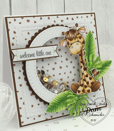 Digi Doodle Giraffe5
